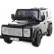 12v JEEP LAND ROVER DEFENDER NERO