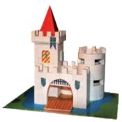 """Costruzione in gesso""""Castello"""" BKD-20922"""