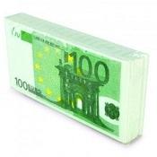 Fazzoletti Di Carta Banconota 100€