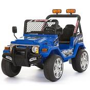 Jeep a due posti 12V - 618B - BLU