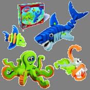 Creature marine - animali da assemblare in EVA - BLO-25003