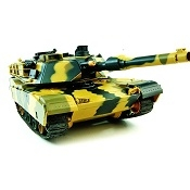 Carro armato RC Softair BB ABRAMS 1/24