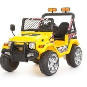 Jeep a due posti 12V - 618Y - GIALLA