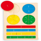 Puzzle delle frazioni LG 4436