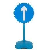 Segnale stradale Obbligo Avanti
