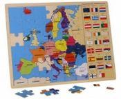 Puzzle Europa con bandiere 8149