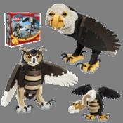 Uccellini - animali da assemblare in EVA BLO-25005